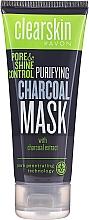 Parfums et Produits cosmétiques Masque à l'extrait de charbon pour visage - Avon Clearskin Pore & Shine Control Purifying Charcoal Mask