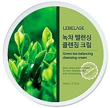 Parfums et Produits cosmétiques Crème nettoyante au thé vert pour visage - Lebelage Green Tea Balancing Cleansing Cream