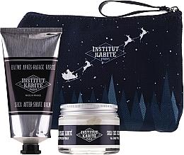 Parfums et Produits cosmétiques Coffret cadeau - Institut Karite Men Shea (f/cr/50ml + ash/balm/75ml + bag)