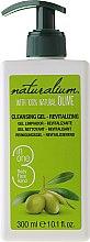 Parfums et Produits cosmétiques Gel nettoyant à l'huile d'olive pour corps,mains et visage - Naturalium Revitalizing Cleansing Gel