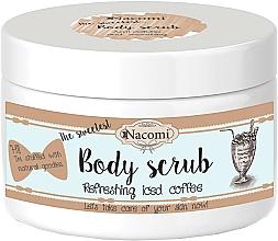 Parfums et Produits cosmétiques Gommage au sucre, café et beurre de karité pour corps - Nacomi Natural Body Scrub Refreshing Iced Cofee