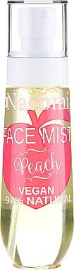 Brume visage naturelle à la pêche - Nacomi Face Mist Peach
