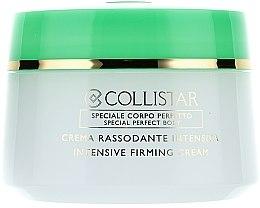 Parfums et Produits cosmétiques Crème raffermissante intensive pour le corps - Collistar Crema Rassodante Intensiva