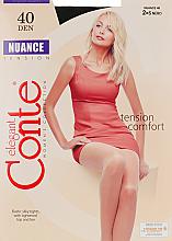 Parfums et Produits cosmétiques Collant pour femme, Nuance, 40 Den, nero - Conte