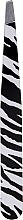 Parfums et Produits cosmétiques Pince à épiler oblique, 498738, blanc-noir - Inter-Vion