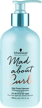 Shampooing boucles - Schwarzkopf Professional Mad About Curls High Foam Cleanser Shampoo