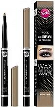 Parfums et Produits cosmétiques Crayon cire à sourcils - Bell Wax Eye Brow Pencil