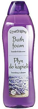 Mousse de bain, Lavande et Aloe vera - Bluxcosmetics Naturaphy Lavender & Aloe Vera Bath Foam
