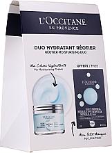 Parfums et Produits cosmétiques L'Occitane Aqua Reotier - Set (crème pour visage/50ml + masque pour visage/6ml)