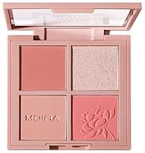 Parfums et Produits cosmétiques Palette de maquillage pour visage - Moira Stay Ready Face Palette