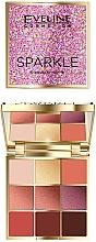 Parfums et Produits cosmétiques Palette de fards à paupières - Eveline Cosmetics Sparkle