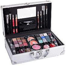 Parfums et Produits cosmétiques Valise à maquillage - Cosmetic 2K Fabulous Beauty Train Case Complete Makeup Palette