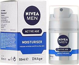 Crème à l'acide folique pour visage - Nivea For Men Aktive Age Moisturiser Cream — Photo N1