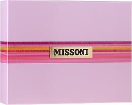 Parfums et Produits cosmétiques Missoni Missoni - Coffret (eau de toilette/50ml + lotion corps/50ml + gel douche/50ml)