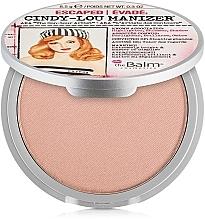 Parfums et Produits cosmétiques Enlumineur et fard à paupières - theBalm Cindy-Lou Manizer Highlighter & Shadow