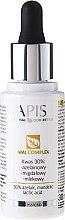 Parfums et Produits cosmétiques Complexe à l'acide 30%: azélaïque, mandélique, lactique pour visage - APIS Professional AML Complex KWAS 30%