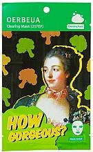 Parfums et Produits cosmétiques Masque tissu en deux étapes à l'extrait de brocoli pour visage - Oerbeua How Gorgeous? Mask Sheet