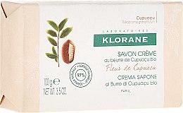 Parfums et Produits cosmétiques Savon crème au beurre de cupuaçu bio Fleur de cupuaçu - Klorane Cupuacu Flower Cream Soap