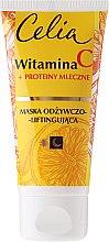 Parfums et Produits cosmétiques Masque à la vitamine C et protéines de lait pour le visage - Celia Witamina C Face Mask
