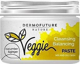 Parfums et Produits cosmétiques Pâte au gingembre et concombre pour visage - DermoFuture Ginger & Cucumber Pasta