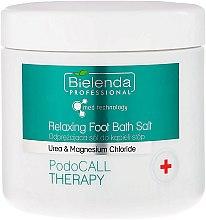 Parfums et Produits cosmétiques Sels de bain à l'urée pour pieds - Bielenda PodoCall Therapy Relaxing Foot Bath Salt
