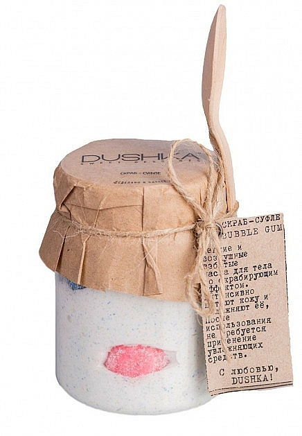 Gommage-soufflé pour corps, Chewing-gum - Dushka — Photo N1