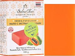 Parfums et Produits cosmétiques Savon à l'extrait de papaye - Sabai Thai Herbal Papaya Soap