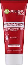 Parfums et Produits cosmétiques Crème à la glycérine pour mains - Garnier Intensive Care Very Dry Skin Regenerating Hand Cream