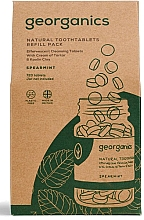 Parfums et Produits cosmétiques Comprimés de nettoyage des dents Menthe (recharge) - Georganics Mouthwash Tablets Spearmint Refill Pack