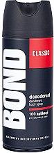 Parfums et Produits cosmétiques Déodorant spray protection totale - Bond Expert Classic Deodorant Body Spray