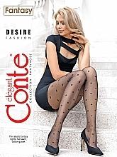 Parfums et Produits cosmétiques Collant pour femme, Fantasy Desire, 20 Den, nero - Conte