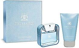 Parfums et Produits cosmétiques Trussardi Blue Land - Coffret (eau de toilette/50ml + gel douche corps et cheveux/100ml)