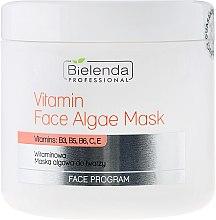 Parfums et Produits cosmétiques Masque aux vitamines et algues pour visage - Bielenda Professional Program Face Vitamin Face Algae Mask