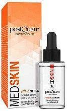 Parfums et Produits cosmétiques Sérum antioxydant et éclairant à la vitamine C pour visage - PostQuam Med Skin Biological Serum Vita-C