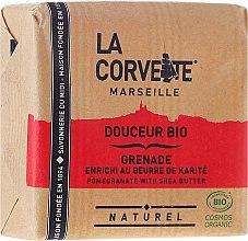 Parfums et Produits cosmétiques Savon douceur bio à la grenade et beurre de karité - La Corvette BIO Pomegranate With Shea Butter