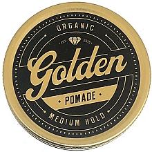 Parfums et Produits cosmétiques Pommade coiffante à la cire d'abeille bio - Golden Beards Golden Pomade