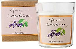 Parfums et Produits cosmétiques Bougie parfumée, Verveine - Ambientair Le Jardin de Julie Verveine