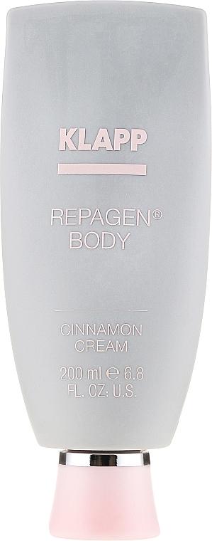 Crème à l'huile de feuille de cannelle pour corps - Klapp Cosmetics Repagen Cinnamon Cream — Photo N2