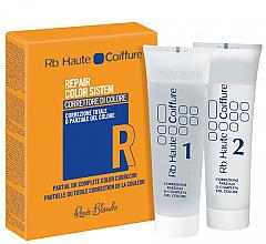 Parfums et Produits cosmétiques Système de correction partielle ou totale de la couleur des cheveux - H.Zone Rapair Color System