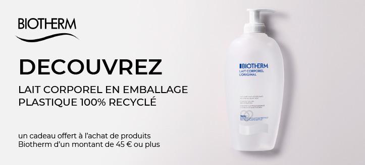 Obtenez un concentré gratuit lors de l'achat de produits Biotherm pour un montant de 45 € ou plus