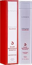Parfums et Produits cosmétiques Shampooing déjaunissant à l'extrait de lavande - L'Anza Healing ColorCare Silver Brightening Shampoo