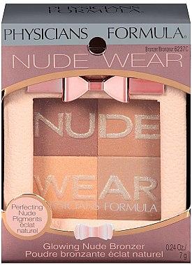 Poudre bronzante pour visage - Physicians Formula Nude Wear Glowing Nude Bronzer — Photo N2