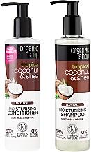 Parfums et Produits cosmétiques Organic Shop - Set (shampooing/280ml + après-shampooing/280ml)