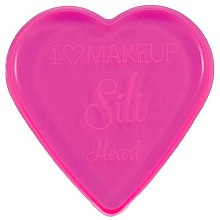 Parfums et Produits cosmétiques Éponge à maquillage en silicone - Makeup Revolution I Heart Makeup Silicone Heart Sponge