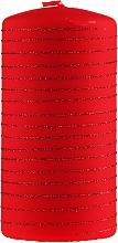 Parfums et Produits cosmétiques Bougie décorative, 7x10 cm, rouge - Artman Candle Andalo