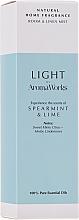 Parfums et Produits cosmétiques Spray d'ambiance, Menthe et Lime - AromaWorks Light Range Room Mist