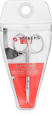 Ciseaux à cuticules, 24 mm, SC-20/2 - Staleks Classic 20 Type 2
