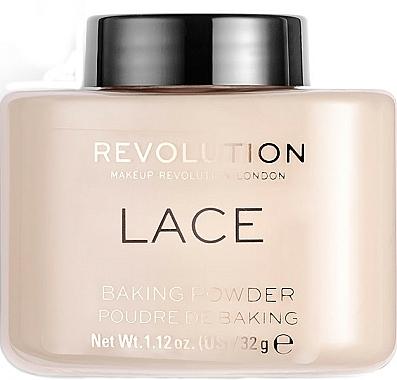 Poudre cuite luxe pour visage - Makeup Revolution Lace Luxury Baking Powder