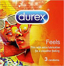 Parfums et Produits cosmétiques Préservatifs, 3 pcs - Durex Feels