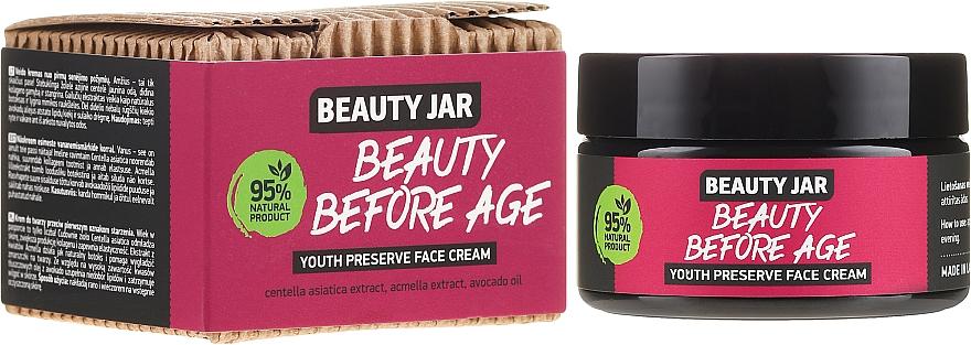 Crème à l'huile d'avocat pour visage - Beauty Jar Beauty Before Age Youth Preserve Face Cream